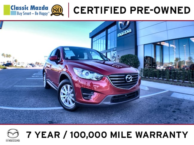 Certified Pre-owned 2016 Mazda CX-5 Sport (2016.5) SUV for sale in Orlando, FL