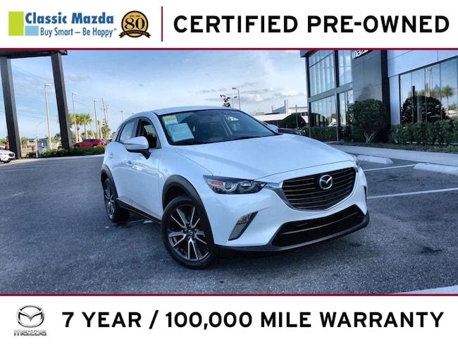 Certified Pre-owned 2017 Mazda CX-3 Touring SUV for sale in Orlando, FL