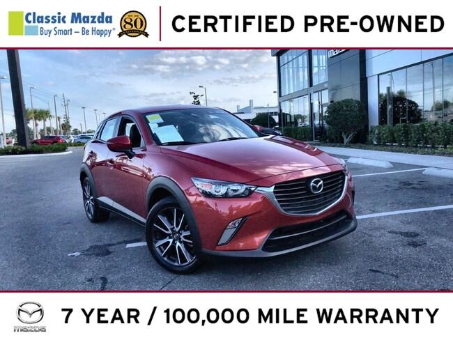 Certified Pre-owned 2018 Mazda CX-3 Touring SUV for sale in Orlando, FL