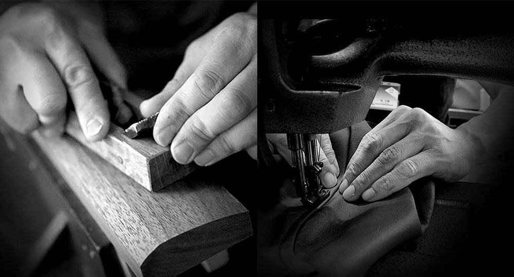 BORN FROM THE HANDS OF CRAFTSMEN.