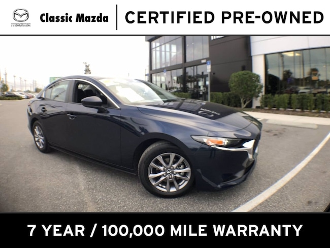Certified Pre-owned 2020 Mazda Mazda3 Sedan Base Sedan for sale in Orlando, FL