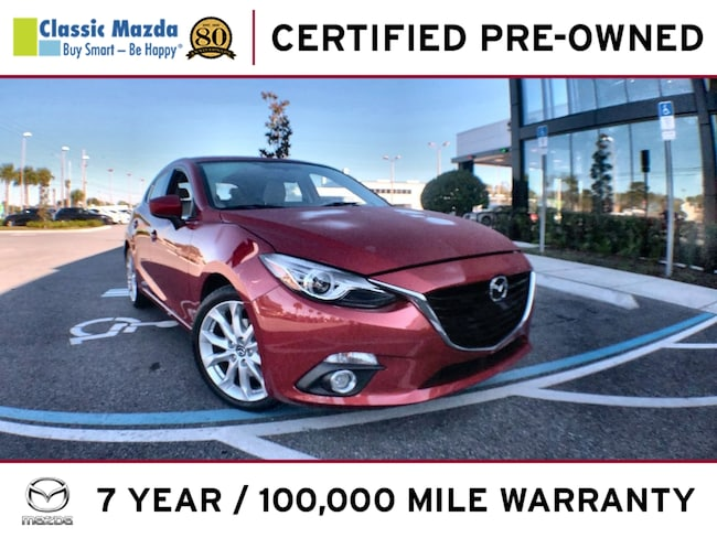 Certified Pre-owned 2014 Mazda Mazda3 s Grand Touring Hatchback for sale in Orlando, FL