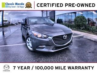 Used 2017 Mazda Mazda3 4-Door Sport Sedan for sale in Orlando, FL