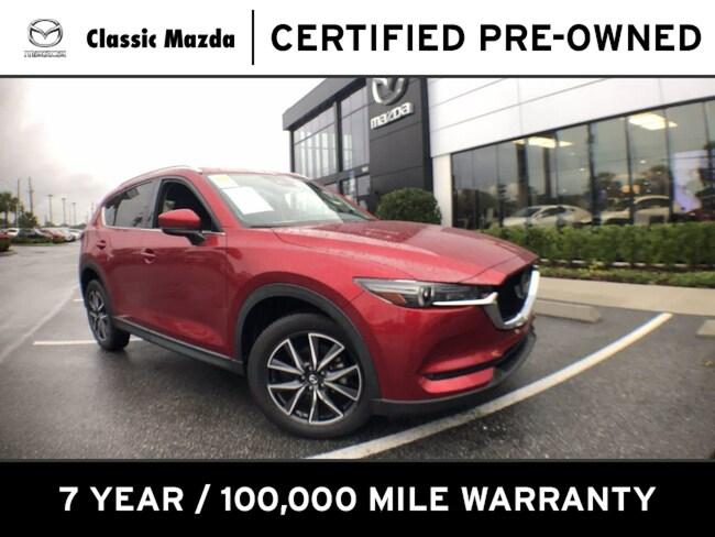 Certified Pre-owned 2018 Mazda CX-5 Grand Touring SUV for sale in Orlando, FL