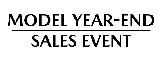 Model Year-End Sales Event