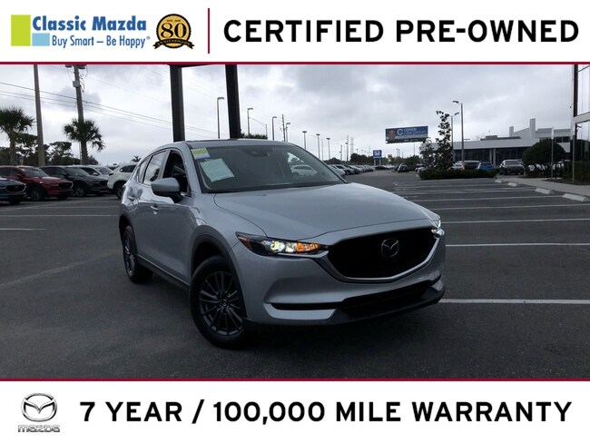 Certified Pre-owned 2019 Mazda CX-5 Touring SUV for sale in Orlando, FL