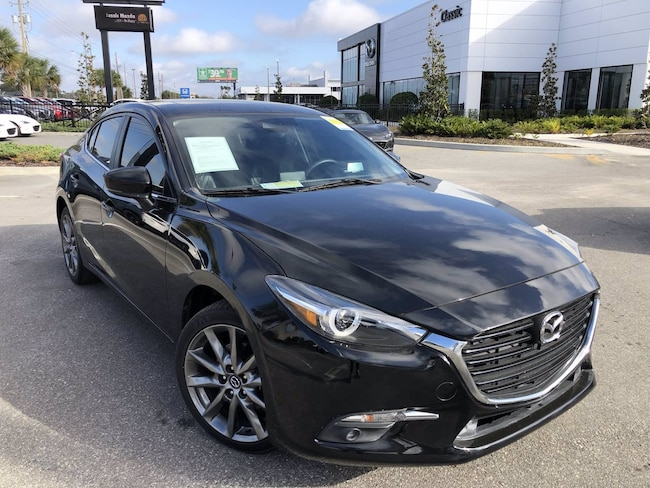 Used 2018 Mazda Mazda3 4-Door Grand Touring Sedan for sale in Orlando, FL