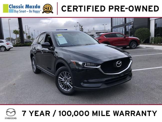 Certified Pre-owned 2017 Mazda CX-5 Sport SUV for sale in Orlando, FL