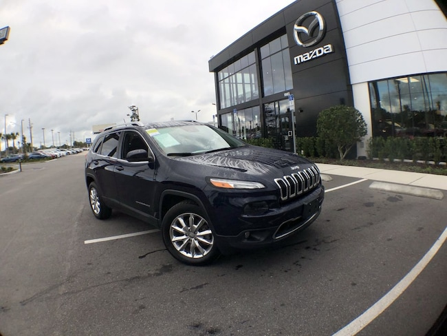 Used 2015 Jeep Cherokee Limited 4x4 SUV for sale in Orlando, FL