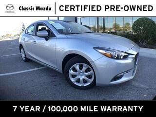 Used 2018 Mazda Mazda3 4-Door Sport Sedan for sale in Orlando, FL