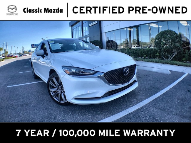 Certified Pre-owned 2020 Mazda Mazda6 Touring Sedan for sale in Orlando, FL