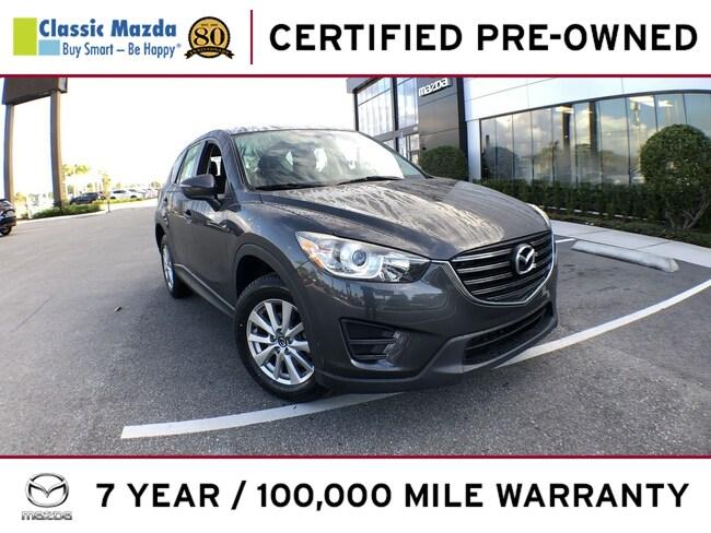 Certified Pre-owned 2016 Mazda CX-5 Sport (2016.5) SUV for sale in Orlando, FL