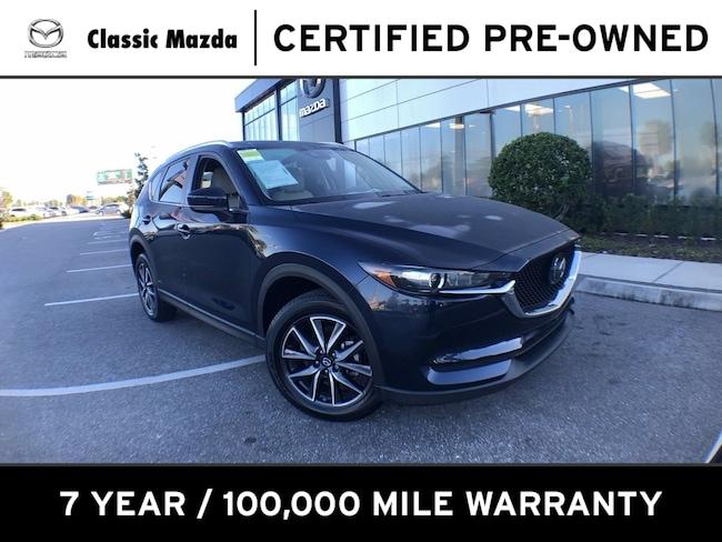 Certified Pre-owned 2018 Mazda CX-5 Touring SUV for sale in Orlando, FL