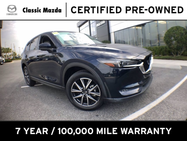 Certified Pre-owned 2018 Mazda CX-5 Grand Touring SUV for sale in Orlando, FL