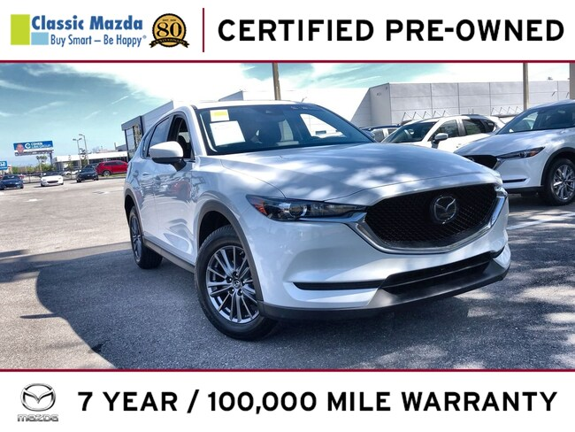 Certified Pre-owned 2019 Mazda CX-5 Touring SUV for sale in Orlando, FL