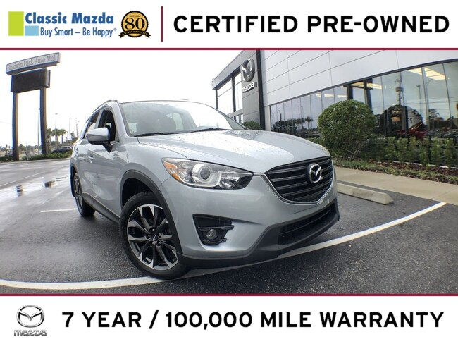 Certified Pre-owned 2016 Mazda CX-5 Grand Touring (2016.5) SUV for sale in Orlando, FL