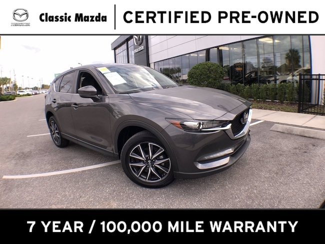 Certified Pre-owned 2018 Mazda CX-5 Touring SUV for sale in Orlando, FL