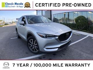 Certified Pre-owned 2018 Mazda Mazda CX-5 Grand Touring SUV for sale in Orlando, FL