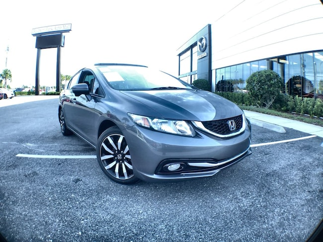 Used 2014 Honda Civic Sedan EX-L Sedan for sale in Orlando, FL