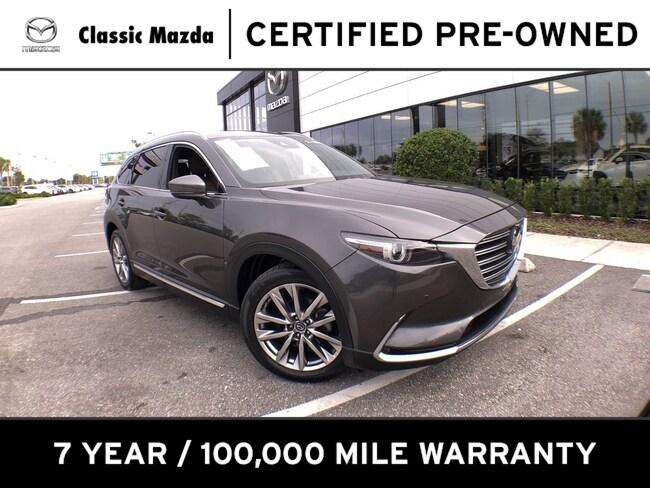 Certified Pre-owned 2018 Mazda CX-9 Signature SUV for sale in Orlando, FL