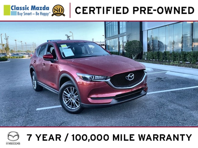 Certified Pre-owned 2017 Mazda CX-5 Touring SUV for sale in Orlando, FL