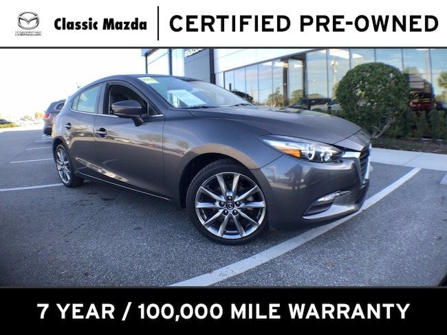 Certified Pre-owned 2018 Mazda Mazda3 5-Door Touring Hatchback for sale in Orlando, FL