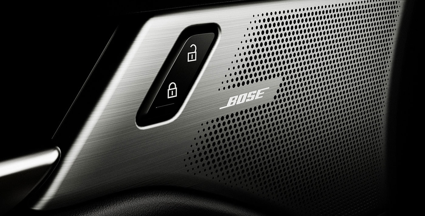 Available Bose® 12-speaker Premium Audio System