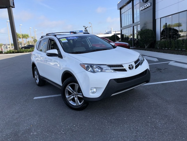 Used 2015 Toyota RAV4 XLE SUV for sale in Orlando, FL