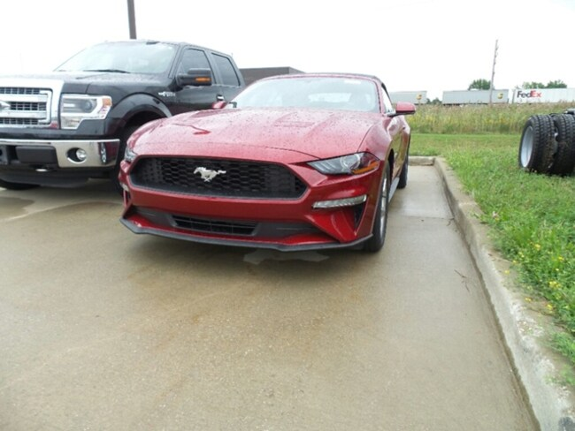 2019 Ford Mustang Ecoboast Conv Prem Convertible
