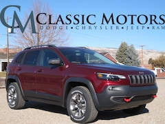 New 2019 Jeep Cherokee TRAILHAWK 4X4 Sport Utility for Sale in Richfield UT