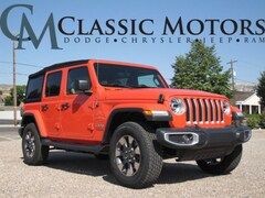 New 2018 Jeep Wrangler UNLIMITED SAHARA 4X4 Sport Utility for Sale in Richfield UT
