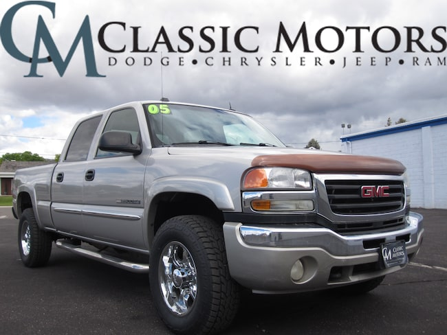 Used 2005 GMC Sierra 2500HD SLT Crew Cab 4WD 6FT Box for Sale in Richfield UT