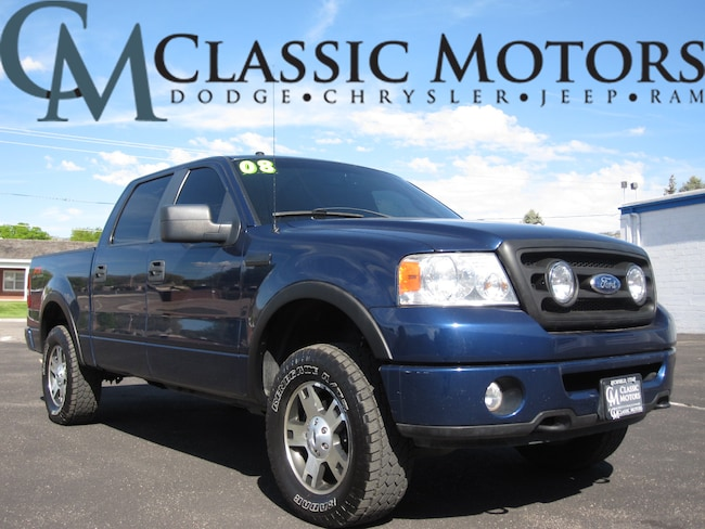 Used 2008 Ford F-150 FX4 Crew Cab 4WD 5FT Box for Sale in Richfield UT