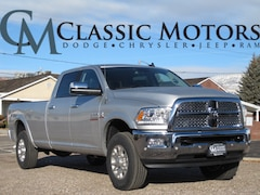 New 2018 Ram 3500 LARAMIE CREW CAB 4X4 8' BOX Crew Cab for Sale in Richfield UT