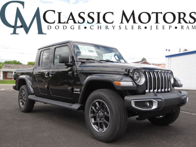 New 2020 Jeep Gladiator OVERLAND 4X4 Crew Cab for Sale in Richfield Utah