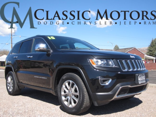 Used 2015 Jeep Grand Cherokee Limited SUV for Sale in Richfield UT