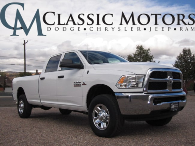 New 2018 Ram 2500 TRADESMAN CREW CAB 4X4 8' BOX Crew Cab for Sale in Richfield Utah