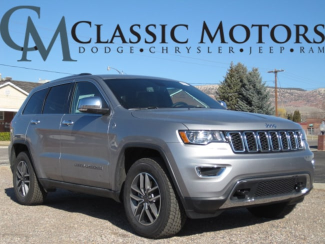 New 2019 Jeep Grand Cherokee LIMITED 4X4 Sport Utility for Sale in Richfield Utah