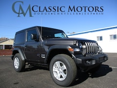 New 2020 Jeep Wrangler SPORT S 4X4 Sport Utility for Sale in Richfield UT