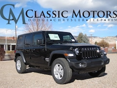New 2018 Jeep Wrangler UNLIMITED SPORT S 4X4 Sport Utility for Sale in Richfield UT