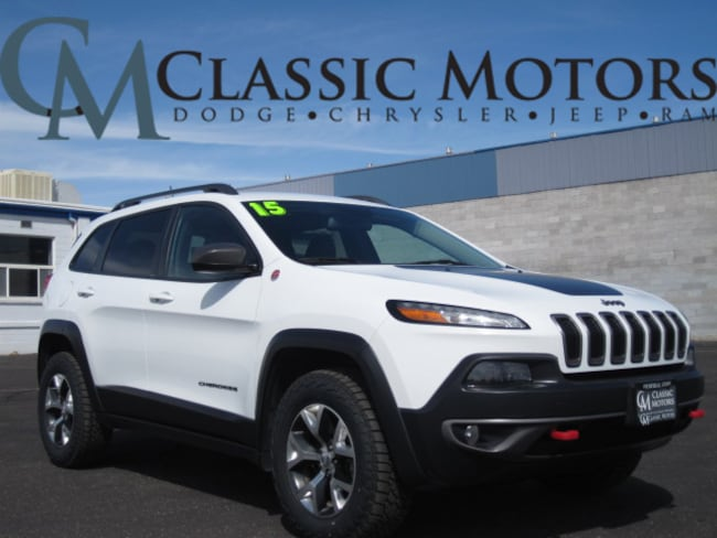 Used 2015 Jeep Cherokee Trailhawk SUV for Sale in Richfield UT