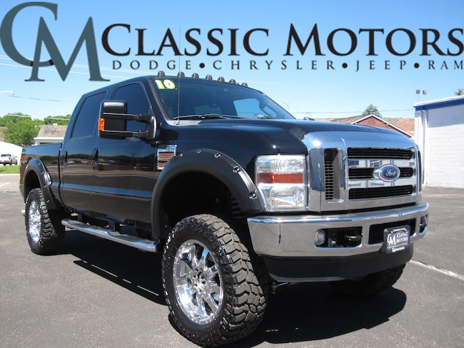 Used 2010 Ford F-350SD Lariat Crew Cab 4WD 6FT Box for Sale in Richfield UT