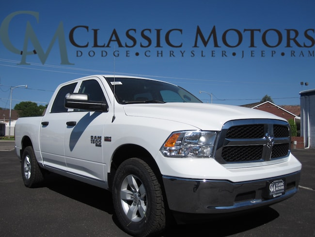 New 2019 Ram 1500 CLASSIC TRADESMAN CREW CAB 4X4 5'7 BOX Crew Cab for Sale in Richfield Utah