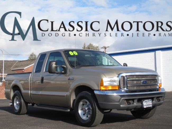 Used 2000 Ford F-250SD XLT Extended Cab 8' Box 2WD for Sale in Richfield UT