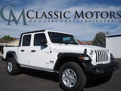 New 2020 Jeep Gladiator SPORT S 4X4 Crew Cab for Sale in Richfield UT