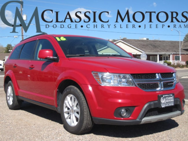 Used 2016 Dodge Journey SXT SUV for Sale in Richfield UT