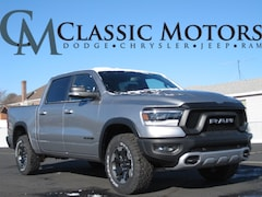 New 2019 Ram 1500 REBEL CREW CAB 4X4 5'7 BOX Crew Cab for Sale in Richfield UT