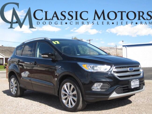 Used 2017 Ford Escape Titanium SUV for Sale in Richfield UT