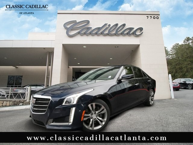 Certified Pre-Owned 2016 CADILLAC CTS Sedan in Atlanta
