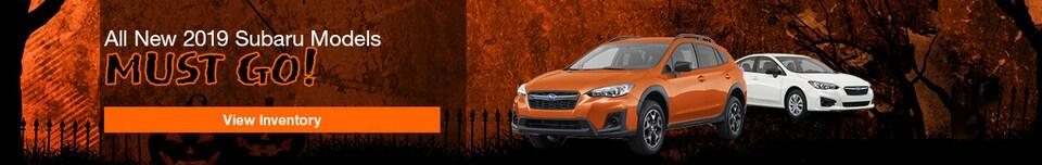 All New 2019 Subaru Models Must Go!